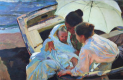 Sorolla After the Bath