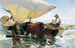 Sorolla Return from Fishing